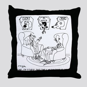 The Taxidermist The IRS Throw Pillow
