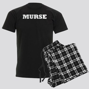 Murse - Male Nurse Men's Dark Pajamas