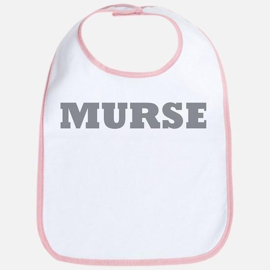 Murse - Male Nurse Bib