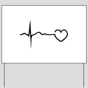 Heartbeat Yard Sign
