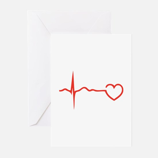 Heartbeat Greeting Cards (Pk of 20)