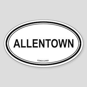 Allentown (Pennsylvania) Oval Sticker