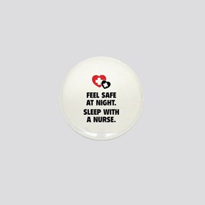 Feel Safe At Night Mini Button