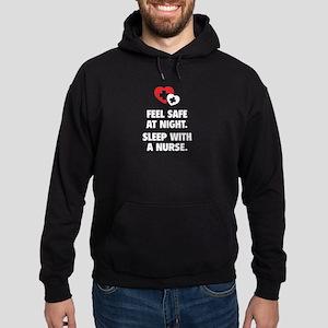Feel Safe At Night Hoodie (dark)