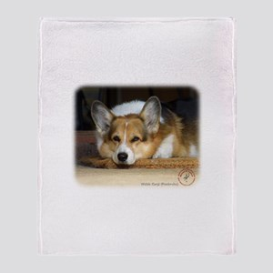 Welsh Corgi Pembroke 9R022-030_2 Throw Blanket