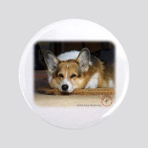 "Welsh Corgi Pembroke 9R022-030_2 3.5"" Button"