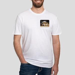 Welsh Corgi Pembroke 9R022-030_2 Fitted T-Shirt