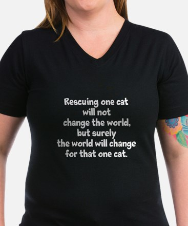 Rescuing One Cat Shirt