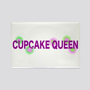Cupcake Queen Rectangle Magnet
