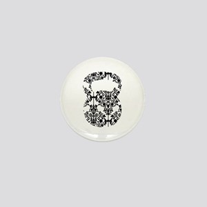 Damask Kettlebell Mini Button