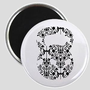Damask Kettlebell Magnet