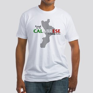 Proud to be Calabrese Fitted T-Shirt