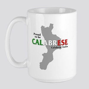 Proud to be Calabrese Large Mug