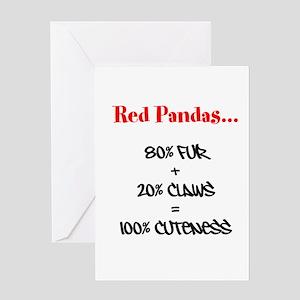 100% Cuteness Greeting Card
