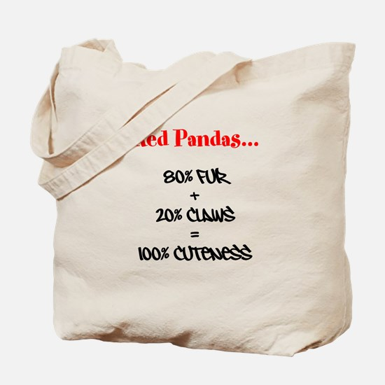 100% Cuteness Tote Bag