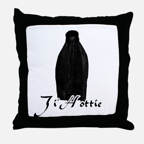 Ji'Hotties, Baby Throw Pillow