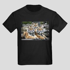 TIGERS Kids Dark T-Shirt