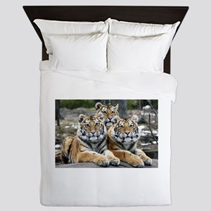 TIGERS Queen Duvet