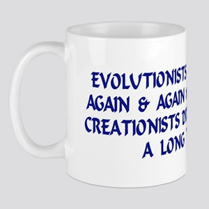 Evolutionists Do It Again & A Mug