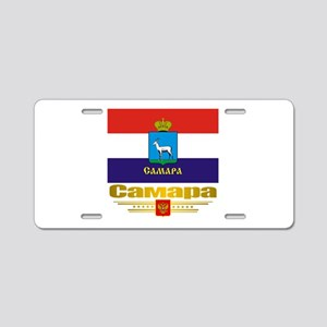 Samara Flag Aluminum License Plate