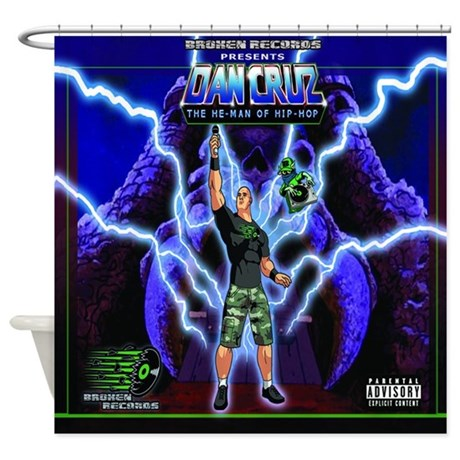 He Man Shower Curtain By GreatestShirtsEver