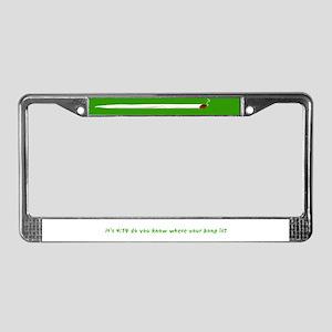 420 License Plate Frame