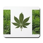 Legalize Marijuana Cannabis Flag Mousepad