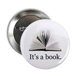 """Its a book 2.25"""" Button (100 pack)"""