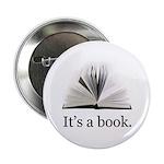 "Its a book 2.25"" Button"