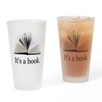 Its a book Drinking Glass