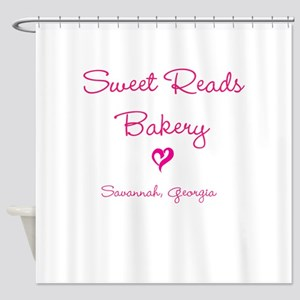 Sweet Reads Shower Curtain