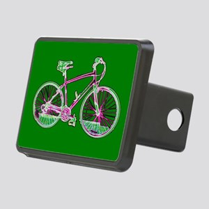 Green Wondrous Velo Bicycle Rectangle Hitch Cover