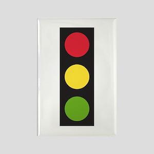 Traffic Light Rectangle Magnet