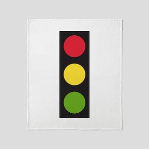 Traffic Light Throw Blanket