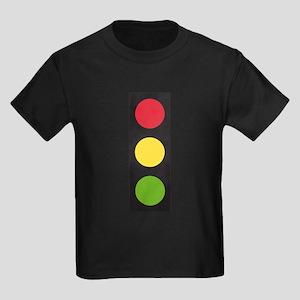 Traffic Light Kids Dark T-Shirt