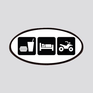 Eat Sleep ATV Patches