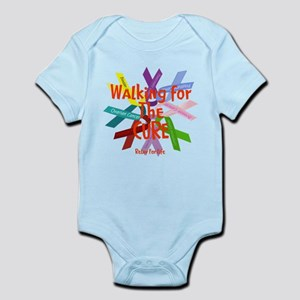 Walking for the CURE copy Infant Bodysuit