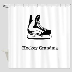 Hockey Grandma Shower Curtain