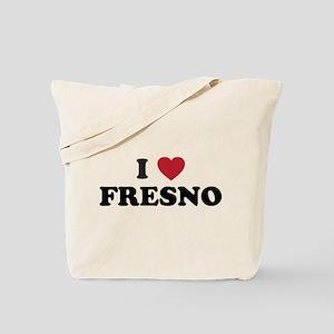 I Love Fresno California Tote Bag
