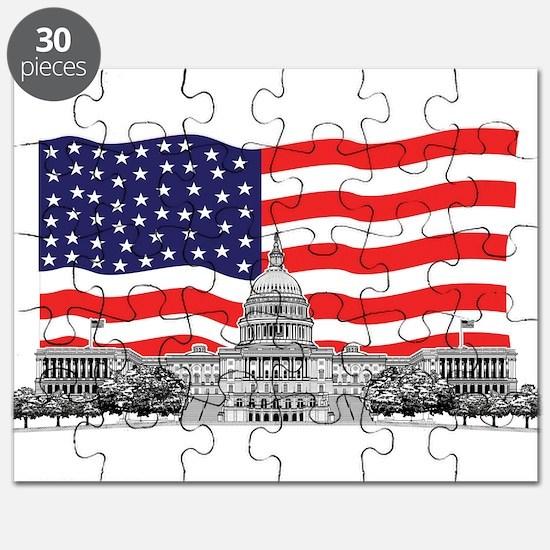 USCapitolbldgFlagREC2.png Puzzle