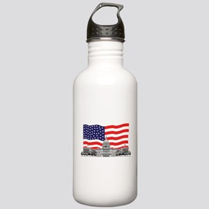 USCapitolbldgFlagREC2 Stainless Water Bottle 1