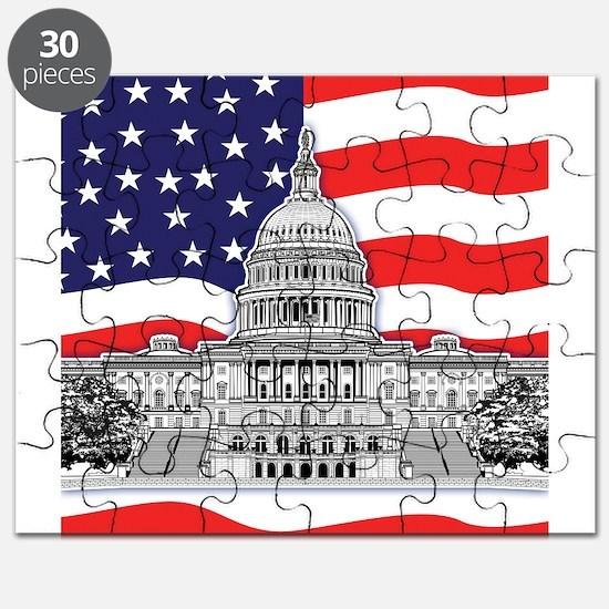 U.S. Capitol Building Puzzle