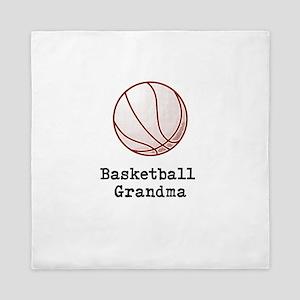 Basketball Grandma Queen Duvet