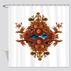 mask10x10_apparel Shower Curtain