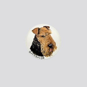 Airedale Terrier Good Dog Mini Button