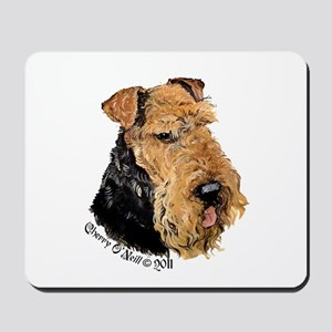 Airedale Terrier Good Dog Mousepad