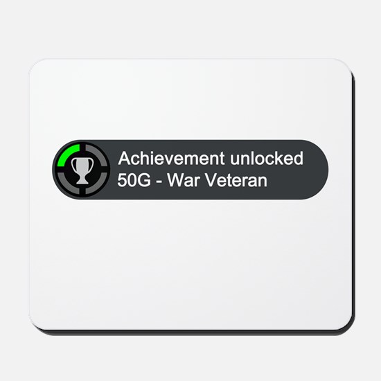 War Veteran (Achievement) Mousepad