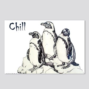 Chill Penguins Postcards (Package of 8)