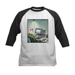 A real Mouse Computer Mouse Kids Baseball Jersey