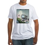 A real Mouse Computer Mouse Fitted T-Shirt